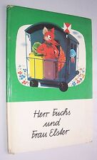 Signor Volpe & signora Elster musicale bambini libro 1974 DDR classico!