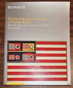 HTF auction catalog MARK WOOLLEY COLLECTION of VINTAGE CATALIN RADIOS 2007 EX