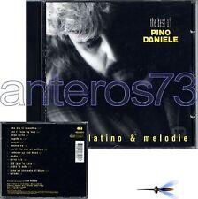 "PINO DANIELE ""BLUES LATINO & MELODIE"" RARO CD CGD '94"