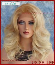 Lace Front Wig HAND TIED T27.613 SOFT DELICATE SEXY CURLS FASTSHIP US SELLER 150