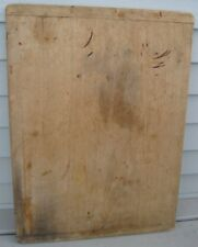ANTIQUE XL WOODEN BREAD BOARD WITH END HANDLES