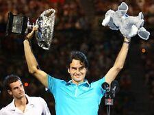 Nike Roger Federer Winner Polo Shirt Blue Size XXL Australian Open 2010 Rare