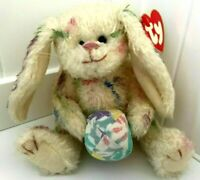 Ty Beanie Baby- Georgia Plush Bunny Egg Follow Your Rainbow 1993 -New -Free Ship