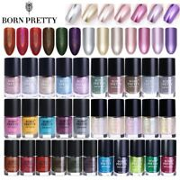 9ml Born Pretty Nail Art Polish Mirror Shell Thermal Holographic Effect Varnish