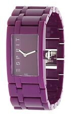 Esprit Damen Armbanduhr Houston Funky violett ES103362004
