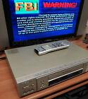 SAMSUNG SV-5000W World Wide Video VHS VCR PAL, SECAM, NTSC converter tested ME