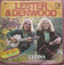 "LESTER & DENWOOD - LAZY LADY / CELINA - VINYL 7""  - 45 RPM"