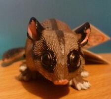 CUTE AUSTRALIANL ANIMAL GIFT POSSUM LARGE REPLICA 8cm Long - PACK of 6