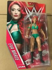 Brand New Eva Marie Series 59 WWE Mattel rare Green with Red Hair