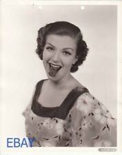 Helen Wood 1936 sexy tongue VINTAGE Photo