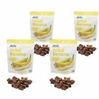 Planty Dried Fruit Snacks, Non-GMO, Vegan and Kosher Certified (Banana, 4-Pack)