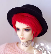 NEW Hot 1/3 SD DOT LATI BJD Hair 22-23cm Handsome Red Short Young Fur Wig