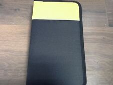 96 Yellow Sleeve CD DVD Blu Ray Disc Carry Case Holder Bag Wallet Storage