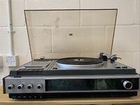 Vintage Phillips PZ1 943 record player & radio Spares