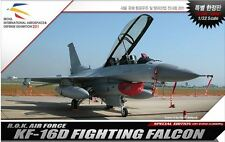 Academy 1/32 R.O.K. Air Force KF-16D Fighting Falcon Plastic Model Kit 12108