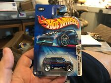 NEW Hot Wheels 2004 1ST EDITION ROCKSTER HUMMER 23/100 BLUE 4X4