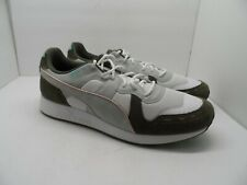 """PUMA Mens RS-100 x Emory Jones """"Bet On Yourself"""" Casual Shoe White/Forest 13M"""