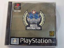 !!! PLAYSTATION ps1 gioco Mass Destruction usk18, usati ma ben!!!