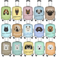 Thick Elastic Luggage Cover Travel Animal Suitcase Protector Dustproof Covers