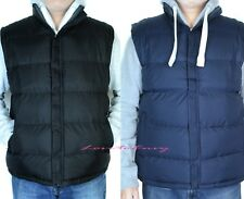 Mens Puffer Padded Sleeveless Quilted REVERSIBLE Bodywarmers Jacket Gilets Coat.