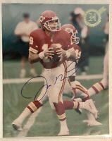 Heroes of the Game Joe Montana Autograph 8x10 Photo #27/50 & Issue #19