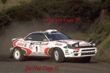 Juha Kankkunen Toyota Celica Turbo 4WD New Zealnd Rally 1994 Photograph 4