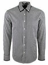 MENS PAISLEY DOUBLE COLLAR STRIPE *FORMAL*CASUAL DRESS SHIRT NOW £16.99 (395)