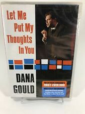 Dana Gould - Let Me Put My Thoughts In You (DVD, 2009)