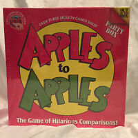 Apples To Apples Party Box Game Of The Year In Sealed Packaging 4-10 Players NIB