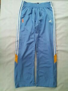 ADIDAS CLIMACOOL CHICAGO SKY PRO CUT TEAR AWAY WARM UP SHOOTING PANTS IN SIZE L