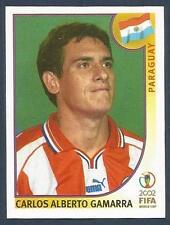 PANINI KOREA/JAPAN WORLD CUP 2002- #137-PARAGUAY-CARLOS ALBERTO GAMARRA