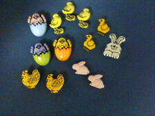 EASTER Chick a Dee 4261 Easter Bunny Craft Buttons