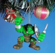 Decoration Ornament Decor Xmas Tree MARVEL The Avengers Incredible Hulk *N170