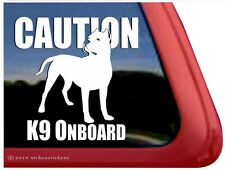 CAUTION K9 On Board - High Quality Dogo Argentino NickerStickers Vinyl Decal