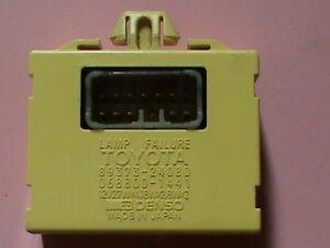 LEXUS Toyota LAMP FAILURE SENSOR/RELAY # 89373-24080 PARTS