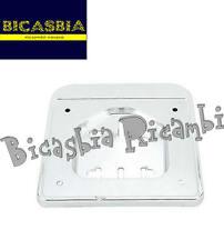 2090 PORTA TARGA CROMATO PLASTICA VESPA 50 SPECIAL R L N PK S XL PORTATARGA
