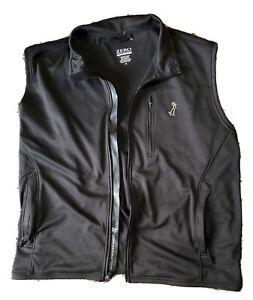 Zero Restriction Tour Series Golf Vest Jacket Black XXL