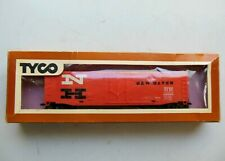 "Tyco 339-B Ho Scale 50' Plug Door Boxcar ""New Haven"" Ready To Run"