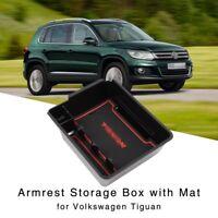 Armlehne Aufbewahrungsbox für VW Tiguan MK1 09-17 Mittelkonsole Handschuhfach