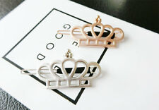 Gold Metal Crown Hair Clip Princess Hairpin for Women - Sale