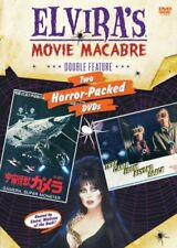 NEW DVD - ELVIRA DOUBLE FEATURE - GAMERA,  MONSTER + THEY CAME FROM BEYOND SPACE