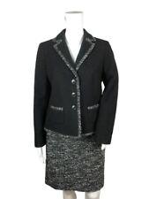 Ann Taylor Dress Suit Black & White Skirt Mismatched Sizes Jacket 10P Skirt 4P