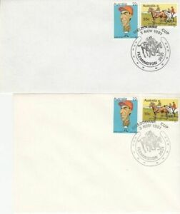 Melbourne Cup Issue (2no. SC's) 1981