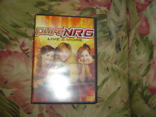Pure NRG - Live & More  (DVD, 2008)   360, Pray, Live For You, Footloose