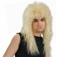80's Rock Star Wig Costume Accessory Adult Halloween NEW