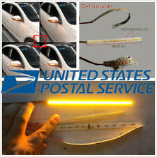 2 Pcs 28LED Autos Flowing Error Free Rear Mirrors Turn Signal Lights US Shipping