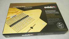 addi click Mix 8 Paar Nadelspitzen 3.5 - 8.0 mm u 3 rote Nadelseile im Set 670-7