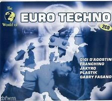 The World Of Euro Techno - 2CD - TECHNO HARD TRANCE