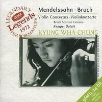 Kyung Wha Chung - Mendelssohn and Bruch Violin Concertos Scottish Fantasia [CD]