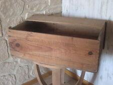 Ancienne Caisse en bois pour Conserve alimentaires Rosporden